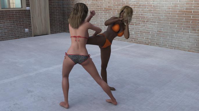 1 - Shayla Buries a Knee