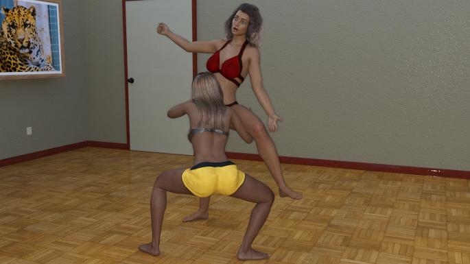 03 - Viv Hooks a Leg